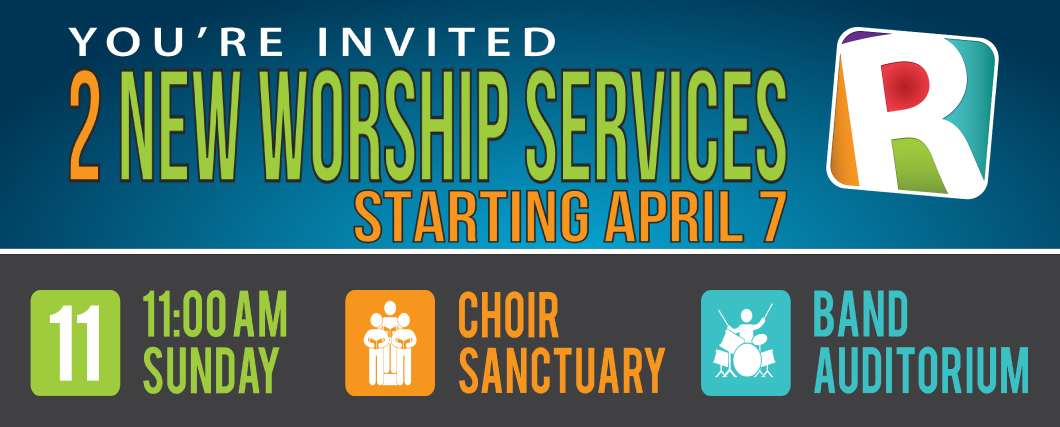 2 New Worship Services