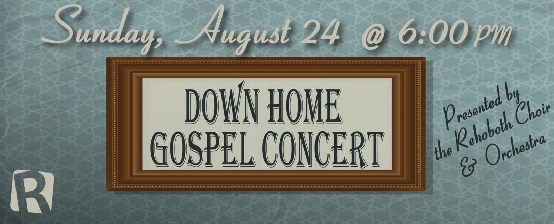 Down Home Gospel Concert