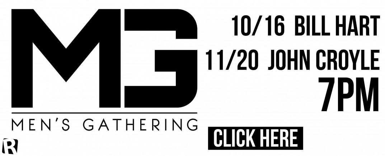 Fall 2014 Men's Gatherings