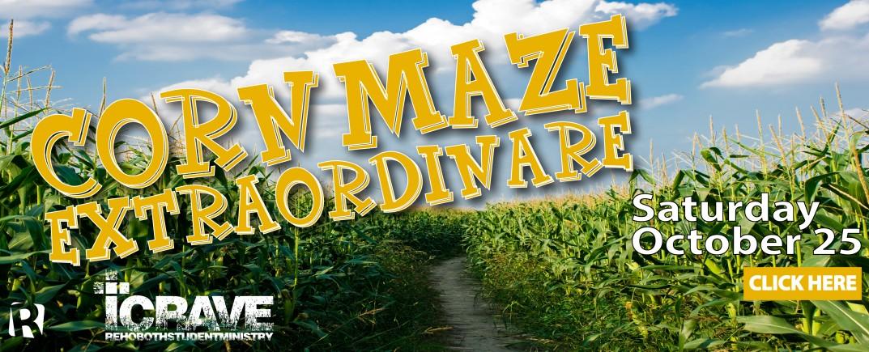 iCRAVE Corn Maze
