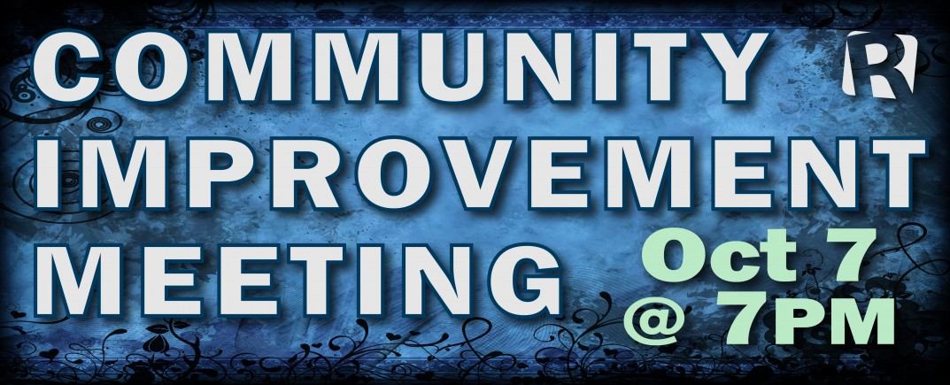 October 7 Community Meeting