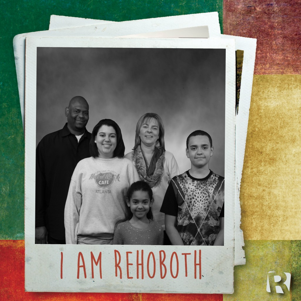 The Merridith Family. From left to right: Reggie, Chasity, Kayla, Christine, and RJ.