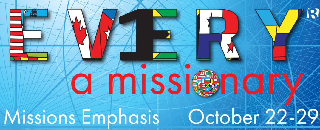 2016 Missions Emphasis