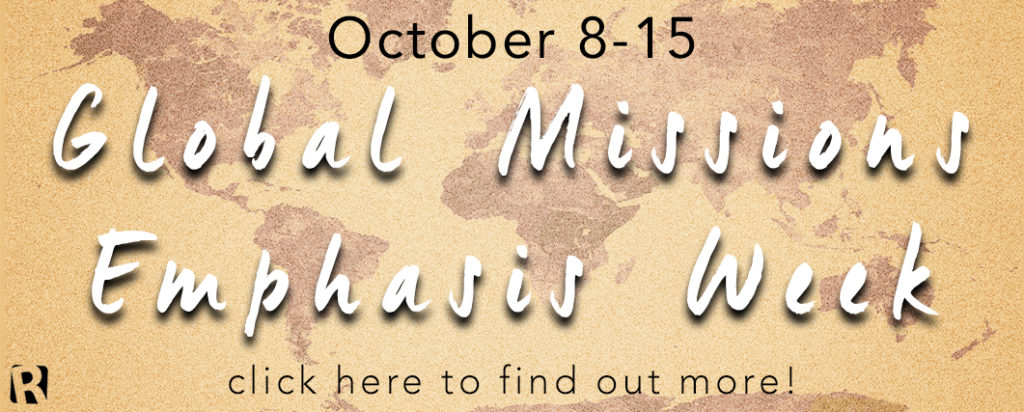 Missions Emphasis 2017