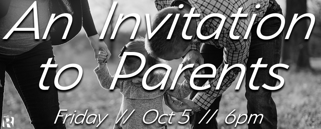 An Invitation to Parents