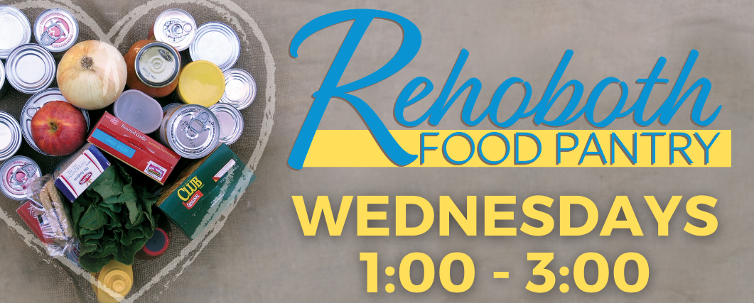 Food Pantry Wednesdays – web banner