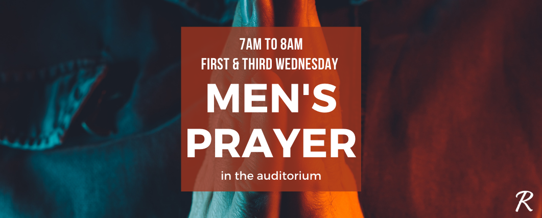 Men's Prayer – Web Banner