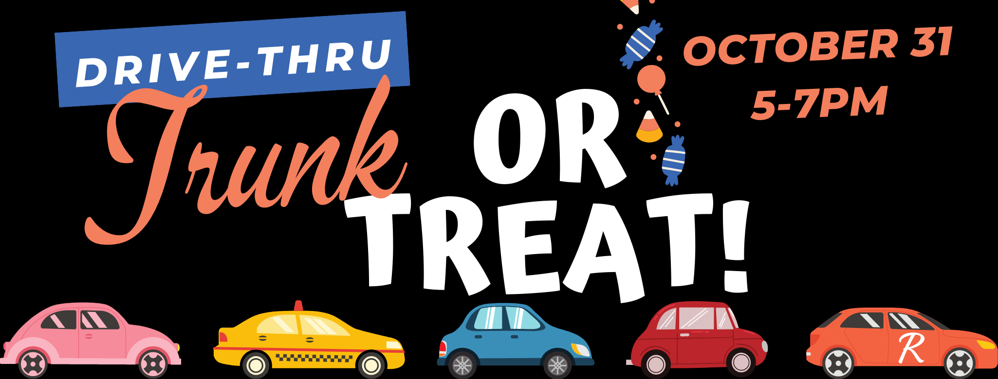 Trunk or Treat web banner